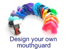 Design your own mouth guard