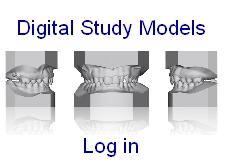 Digital study models - log in